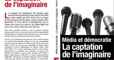 Parution: René Naba, Média et Démocratie